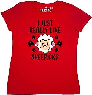 I Just Really Like Sheep Ok Women's T-Shirt