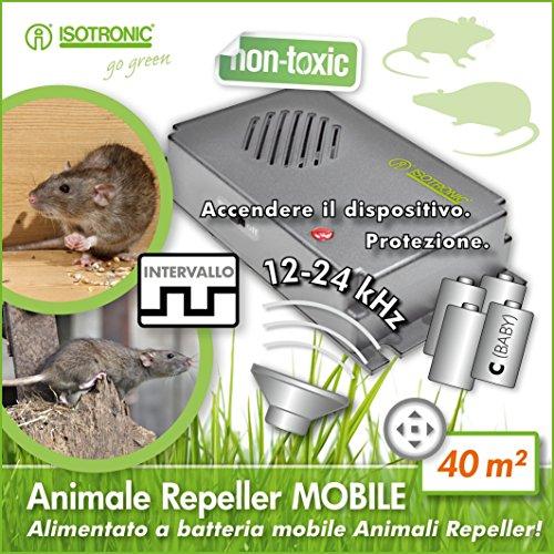 Portables Mäuse- und Rattenabwehrgerät