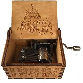/i Regali di Natale Intagliato a Mano manovella Antico Carillon Best Gift for Kids DAYOLY Carillon in Legno Friend/