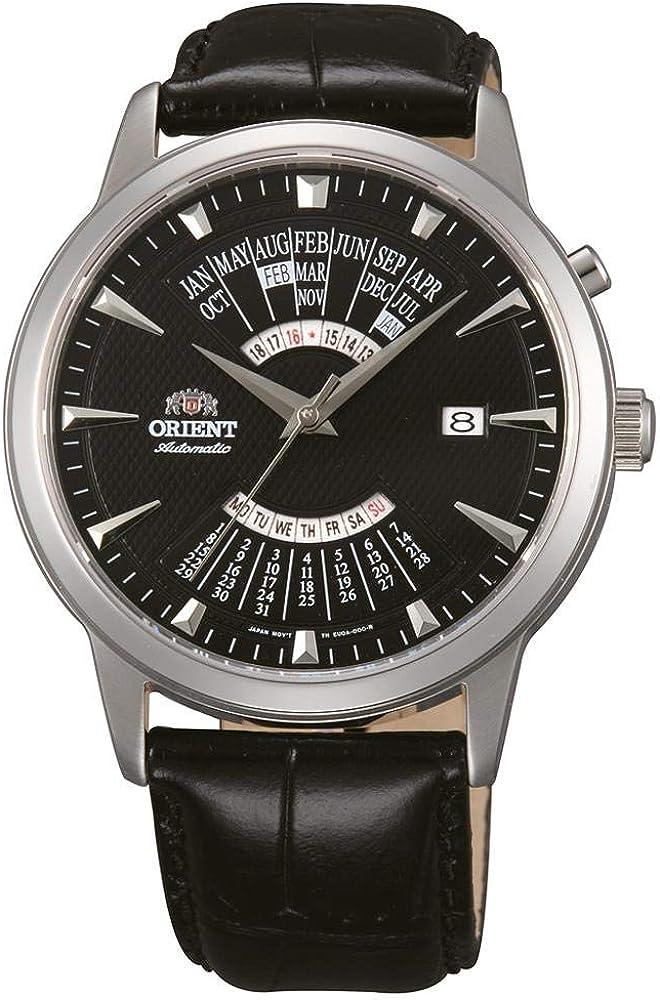 Orient Reloj Analógico para Hombre de Automático con Correa en Cuero FEU0A004BH