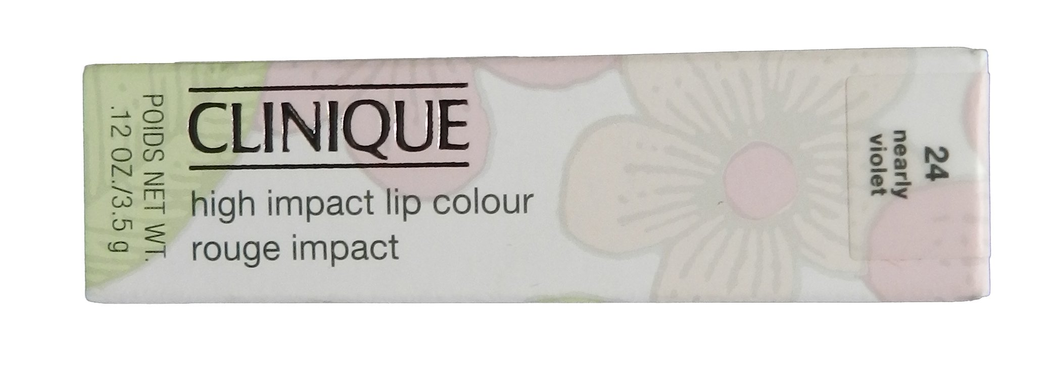Clinique High Impact Lip Color, Nearly Violet, 0.12 Ounce