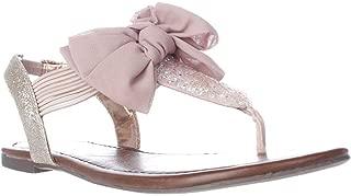 Womens Swan 2 Split Toe Casual T-Strap Sandals, Blush, Size 7.0