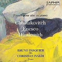 Shostakovitch/Enescu/Hindemith