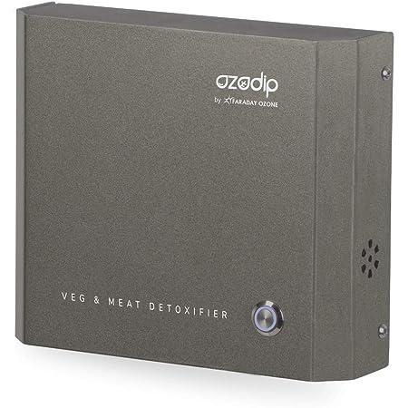OZODIP 2SD Mini generador de ozono Esterilizador Purificador de Aire de ozono Máquina de desinfección de ozono para Eliminar olores y pesticidas domésticos,Limpiar Verduras, Frutas, Carnes, Pescados