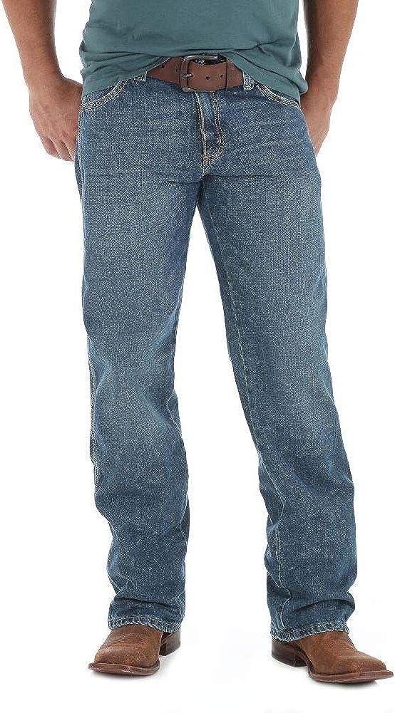 Wrangler Men's Retro Relaxed Fit Straight-Leg Jean