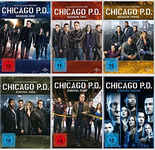 Chicago P.D. - Staffel 1-6 (34 DVDs)