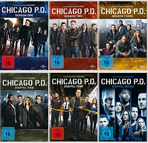 Chicago P.D. - Die kompletten Staffeln 1+2+3+4+5+6 im Super Set (34 DVDs)
