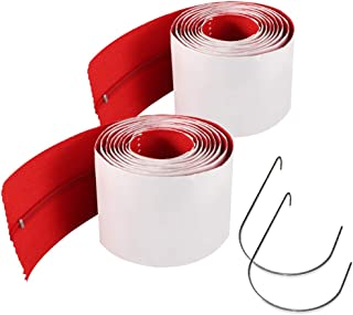 PAMISO 2 Pack Heavy-Duty Zipper for Dust Barriers
