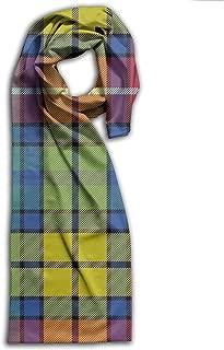 Buchanan Ancient Tartan Long Scarfs Womens Stylish Shawl Wrap Large Blanket For Fall & Winter 11