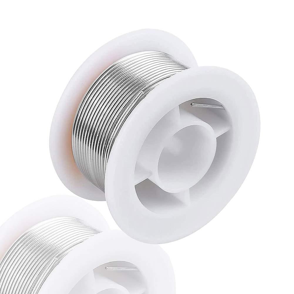 63//37 Tin//Lead Flux Welding Iron Line Reel Rosin Core Solder Wire Tube Kit-Xia