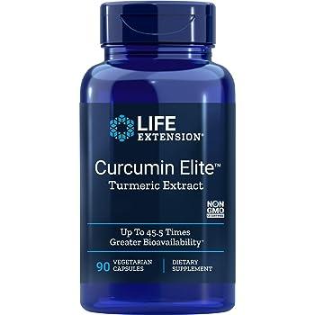Life Extension Curcumin Elite Turmeric Extract, 90 Veg Capsules
