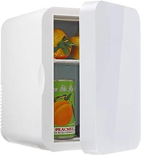 JTJxop Mini Frigo De Chambre, Mini Réfrigérateur Silencieux Mini Réfrigérateur 6 L pour Soins De La Peau et Cosmétiques, p...