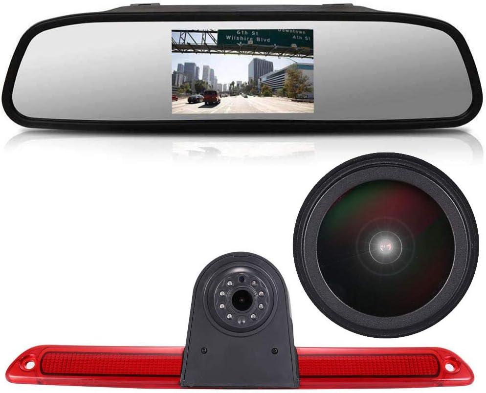 Night Vision Car Reversing Camera Rear View Camera for Mercedes Sprinter W609 Viano Vito Transit Ducato VW Crafter Master Transporter Van 1280 x 720 Pixel 1000TV Lines Super Pro HD Backup Camera