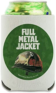 Full Metal Jacket Born to Kill Can Cooler - Drink Sleeve Hugger Collapsible Insulator - Beverage Insulated Holder