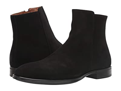Aquatalia Daniel (Black Suede) Men