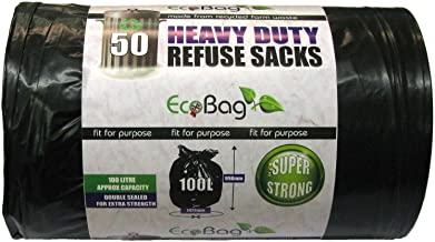 Eco Bag 50 Heavy Duty Refuse Sacks