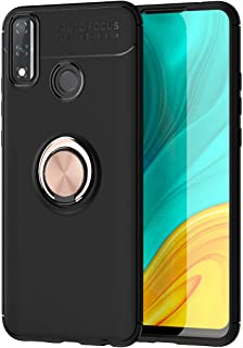 Wuzixi Case for Huawei Y8s,Ultra-thin shock-resistant TPU protective cover with anti-scratch,360-degree swivel ring,Cover ...