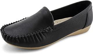 JABASIC Women Slip on Loafers Casual Breathable Walking Flat Shoes