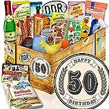 50. Geburtstag / DDR Set 24tlg. / 50 Geburtstag Geschenk
