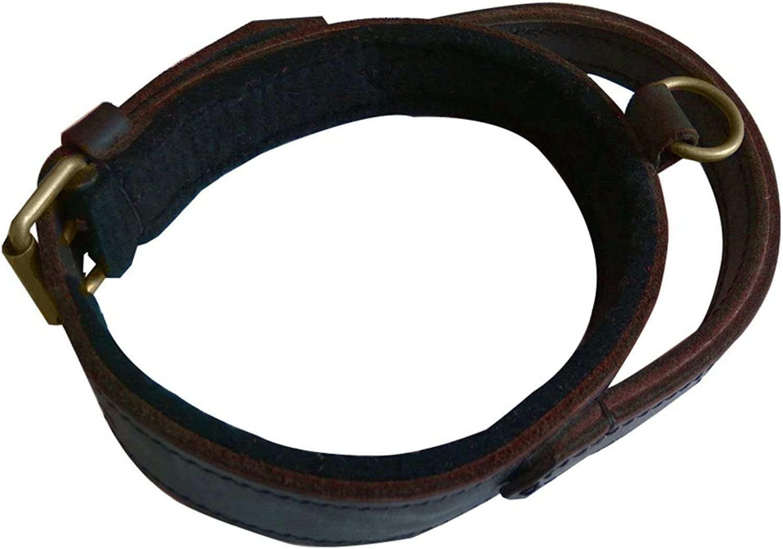GWM Leashes Pet Collar, Dog Collar, Cow Collar, Large Dog, Training, ExplosionProof Punch, Handmade Collar, Pet Supplies