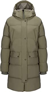 Women Puffer Long Coat Thickened Hooded Jacket Windproof Parkas for Outdoor Winter