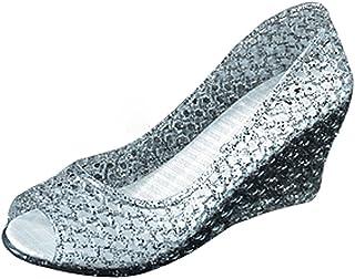 6db247a73092 xsby Summer Style Summer Shoes Women Wedges Sandals High Heels Women Summer  Shoes Glass Slipper Jelly