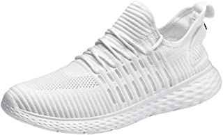 Lailailaily Men's Wild Fashion Mesh Breathable Sneakers Casual Running Shoes