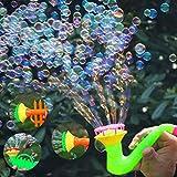Kekailu Blow Bubbles Toy,Creative Multi-Hole Trumpet Water Soap Blowing Bubbles Outdoor Kids Children Toy,Random Style