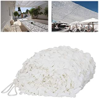 Camouflage net Camouflage Netting Multifunctional White Camouflage Net Cover Used as Sun Shield or Decoration, (Size : 4 *...