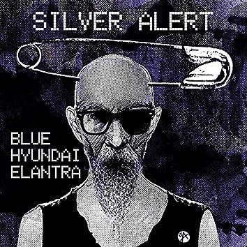 Blue Hyundai Elantra