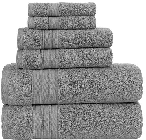 Hammam Linen Bath Towels Alanya Collections (Cool Grey)