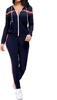 M/&S/&W Mens Casual Tracksuit Long Sleeve Jacket Pants Running Athletic Sports Set