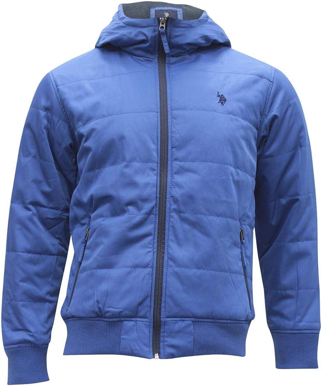 U.S. Polo Assn. mens Hooded Puffer Jacket