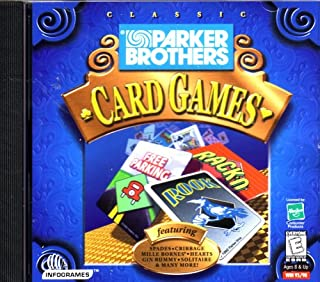 Parker Brother Classic Card Games (Jewel Case)
