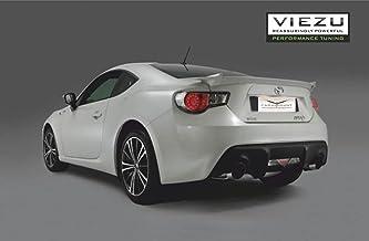 16/manuel Gu/être Gear Shift de coffre noir en cuir italien rouge 86/Logo Brod/é Pour Toyota gt-86/2012
