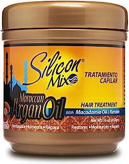 Silicon Mix Argan Oil Treatment, 16 Ounce
