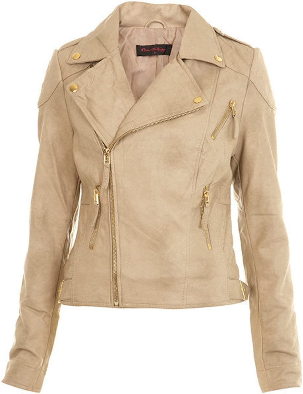 Fadcloset Herrah Womens Leather Jacket