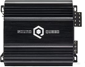SoundQubed S4-100 4 x 100W RMS 4-Channel Full Range Bridgeable Class D Car Audio Amplifier with Remote Gain Control