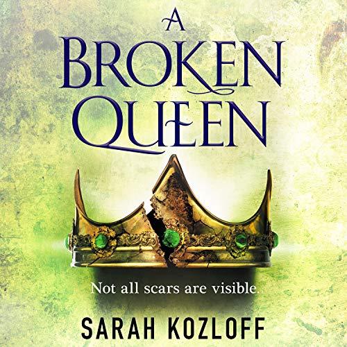A Broken Queen audiobook cover art