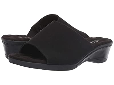 Walking Cradles Kerry (Black Micro/Black Patent) Women