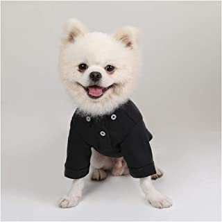 Lodsy Solid Pet Shirt Cotton Pets Dogs Clothing Pet Clothes for Small Medium Dog Costume Dog Shirt