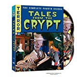 TALES FROM THE CRYPT SEASON 4 COMPLETE 3 DISC DVD SET SEALED NEW HORROR