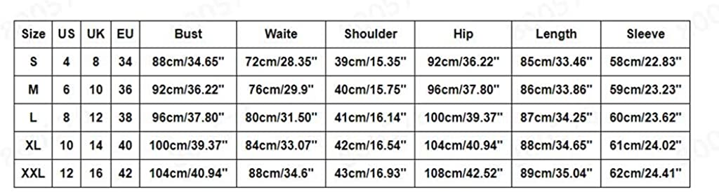 KYLEON Women's Wear to Work Solid Sexy V-Neck 3/4 Sleeve Office Work Casual Pencil Midi Dress Elegnat Bodycon Party Dress
