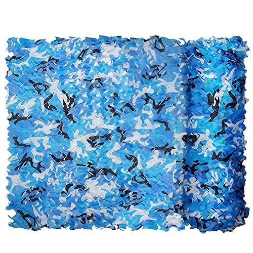 QI-CHE-YI Neto de Camuflaje, Usado para el toldo del jardín, toldo al Aire Libre, toldo Oculto, Gazebo, Neto de Camuflaje Azul Marino,3x4m