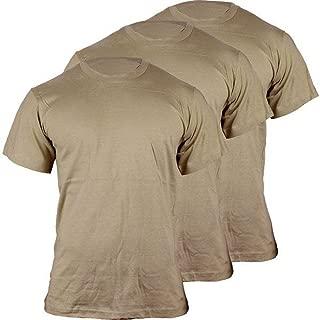 Military Army Tan Mens T-Shirt 3pk Dri Cotton 682M New Uniform OCP Code