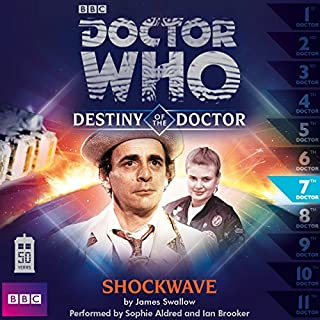 Doctor Who - Destiny of the Doctor - Shockwave cover art