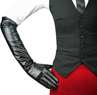 Best long faux leather gloves Reviews