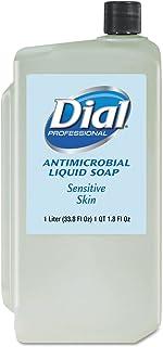 Dial Professional 82839 Antimicrobial Soap for Sensitive Skin 1000mL Refill 8/Carton