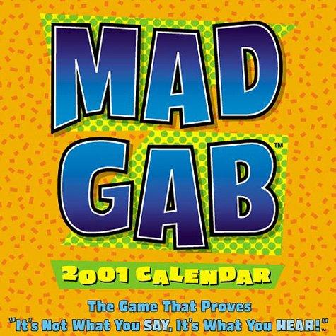 Mad Gab 2001 Calendar