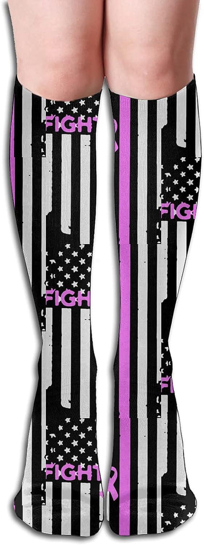 Fight Breast Cancer Socks for Athletic free Women Runn Men Max 44% OFF